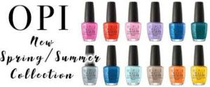 OPI Spring and Summer 2017